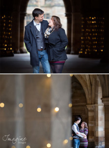 Pre wedding shoot at Glasgow University