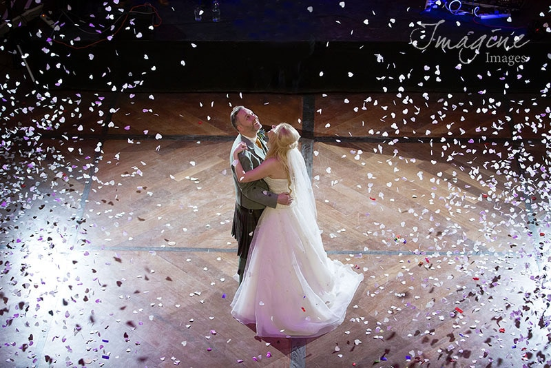 Confetti first dance at Oran Mor Glasgow